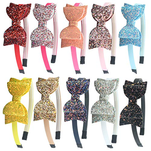 XIMA Glitter Hairband Plastic Accessories product image