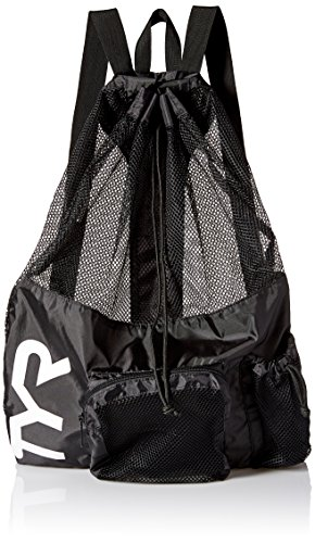TYR Big Mesh Mummy Backpack, Black, 25-1/4