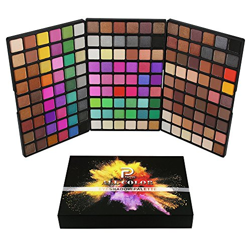 Eyeshadow Palette162 Colors Palette Colors Eyeshadows Halloween Makeup Palette Matte and Shimmer Highly Pigmented Professional Waterproof Cosmetic For Face Painter Toy Makeup (A)