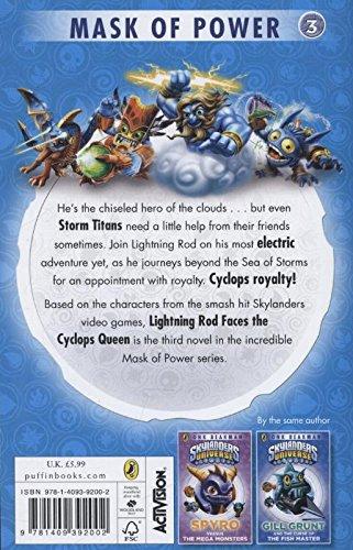 Skylanders Mask Of Power Lightning Rod Faces The Cyclops Queen