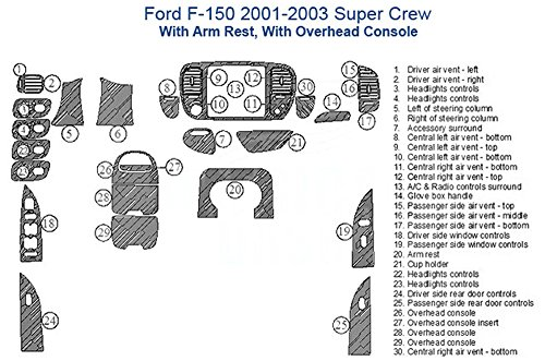 compare price to f 150 overhead console