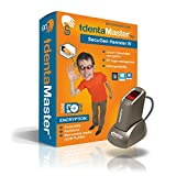 IdentaMaster Biometric Security Bundle with SecuGen Hamster IV - Software Included Encryption, PC Login for Windows 7/8/10