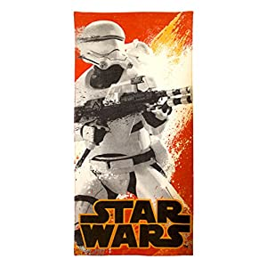 "Star Wars EP7 Flame Trooper 28"" x 58"" 100% Cotton Beach/Bath/Pool Towel"