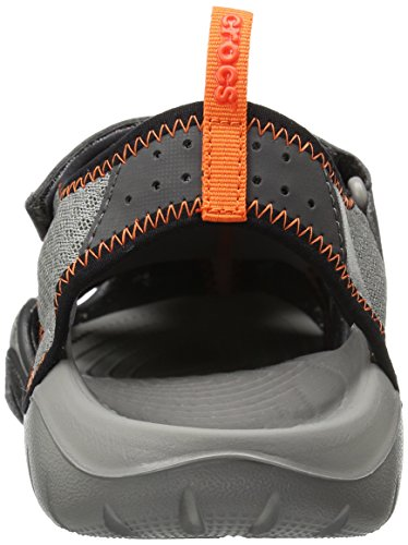 Crocs Mens Sandalo Swiftwater M Fumo / Grafite
