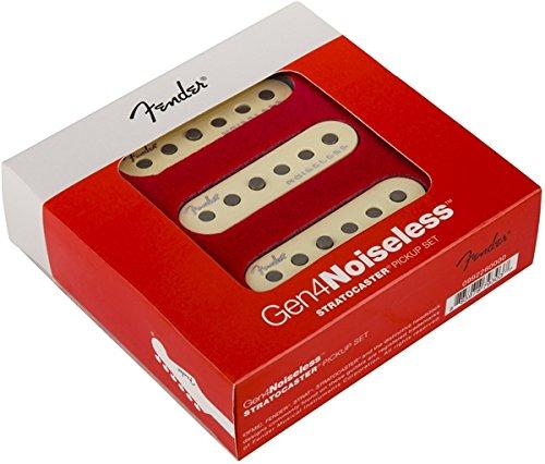 フェンダー◆Fender Gen 4 Noiseless Stratocaster Pickup SET◆ストラトキャスター ギター用ピックアップ3点セット 『並行輸入品』 シングルコイル 4世代目   B078Z6L4YZ