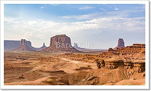John Fords Place In Monument Valley National Park Paper Print Wall Art (12 in. x 20 - Place Ford Park
