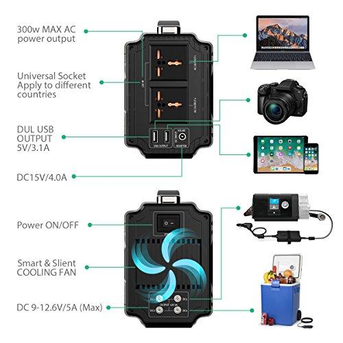 Rockpals 250 Watt Portable Generator Rechargeable Lithium