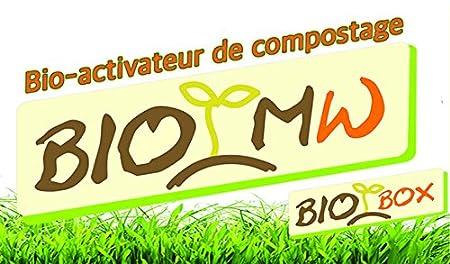 BIO MW, activador, lista para el uso, a mini-Compostador, BIOBOX de cocina, 1 Kg: Amazon.es: Jardín