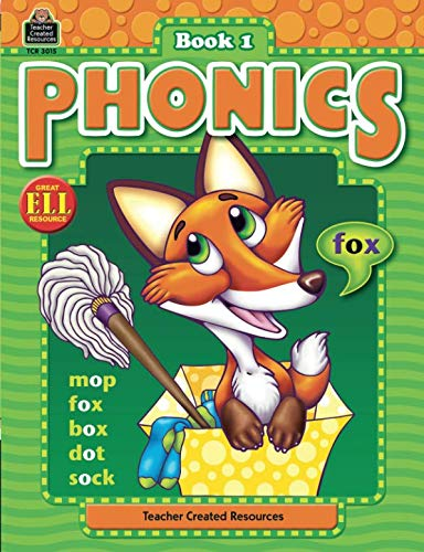 Phonics Book 1: Book 1 (Phonics (Teacher Created Resources)) from Teacher Created Resources
