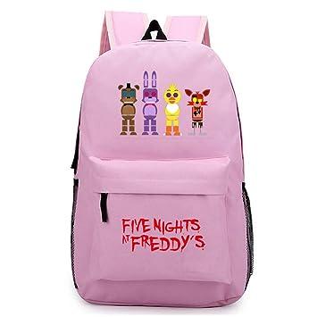 AILIENT Popular Five Nights At FreddyS Mochilas Escolares para Niños y Adolescentes Casual Mochilas de Estudiante