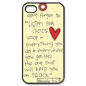 Bible Verse iPhone 4, 4s Case