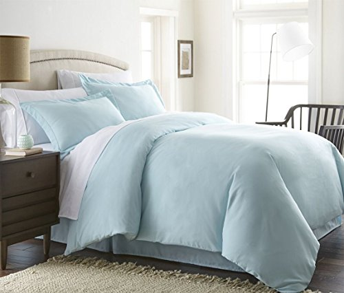 Hotel Collection Luxury Soft Brushed 1800 Series, 1 PC Duvet Cover Twin/Twin XL (Light Blue), Hypoallergenic, Ultra Soft, Premium quality, Wrinkle Free Bed Spread By- The Great American Store (Light Blue Bedding)