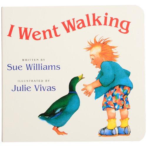 [해외]나는 보드 책 클래식 이야기를 걸어 갔다 / I Went Walking Board Book Classic Story