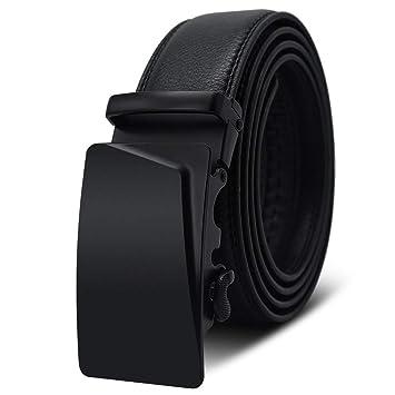 Maybesky Cinturones Casuales para Hombres Hebilla clásica ...