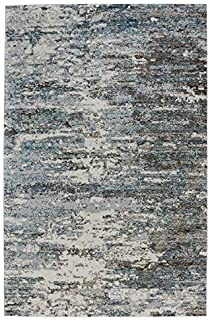 product image for Capel Flame-Bruno Grey 8' x 10' Rectangle Machine Woven Rug