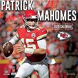 Kansas City Chiefs Patrick Mahomes: 2020 12x12 Player Wall Calendar