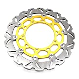 Rzmmotor Motorcycle Front Brake Disc Rotor Fit For YAMAHA R25 R3 2015-2016