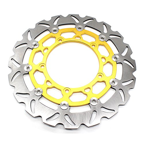 Rzmmotor Motorcycle Front Brake Disc Rotor Fit For YAMAHA R25 R3 2015-2016 by Rzmmotor