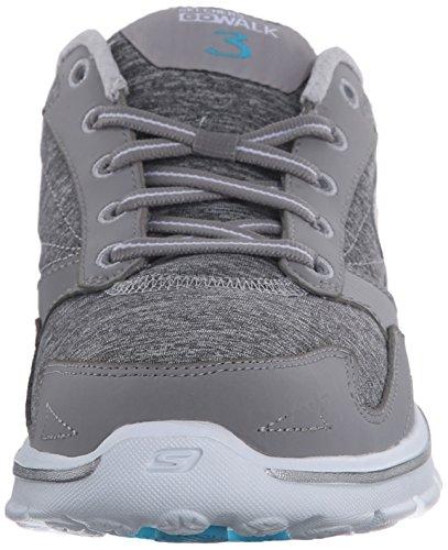 Skechers Performance Womens Go Walk 3 Motive Walking Shoe Grey
