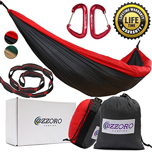 Hammock By Ozzoro – Double Parachute Camping Hammocks Best Quality Gear For The Outdoors