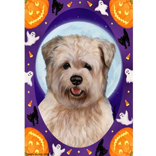 Best of Breed Halloween Howls Full Size Flag Glen of Imaal Terrier ()