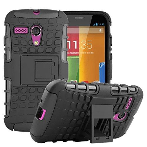 Motorola J0 box mall shockproof kickstand Black