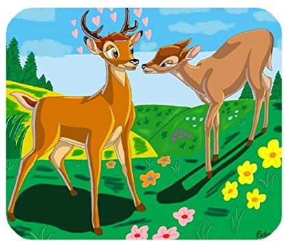 Bambi Great Prince of the Forest Mouse Pad (180mm*220mm