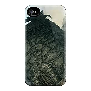 Qqoo Case Cover For Iphone 4/4s Ultra Slim ZMO1381xtci Case Cover