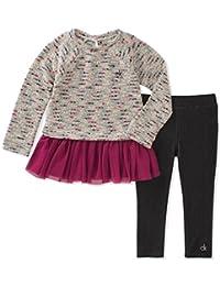Calvin Klein Girls Tunic Legging Set Clothing Set