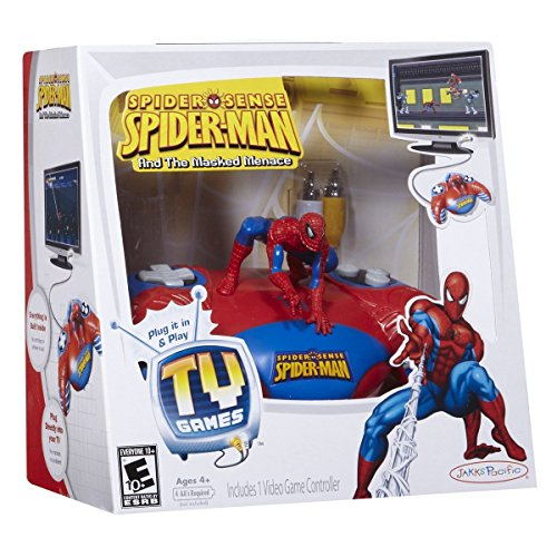 Spider Sense Spider-Man and the Masked Menace Plug and Play TV Game