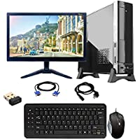 Gandiva Assembled Desktop Computers (Core 2 Duo Processors / G31 Motherboard / 4GB DDR2 RAM / 320GB Harddrive/Without DVD Drive / 15.6Inch Monitor/Windows 7 Trail Operating System)