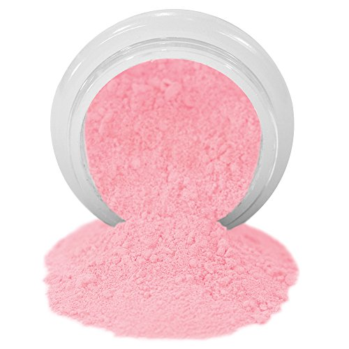 (ColorPops by First Impressions Molds Matte Pink 17 Edible Powder Food Color For Cake Decorating, Baking, and Gumpaste Flowers 10 gr/vol single jar)