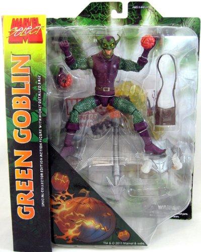 - Diamond Select Toys Marvel Select: Green Goblin Action Figure