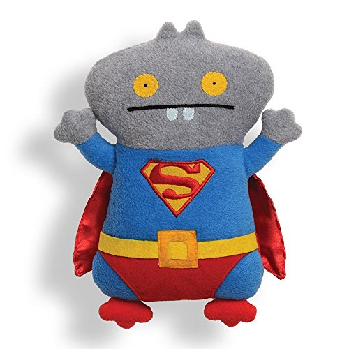 Cross Eyed Cat In Costumes (Gund Uglydoll Babo Superman Stuffed Animal)