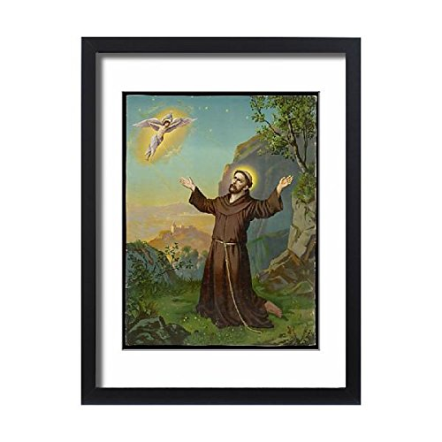 Framed 24X18 Print Of Paranormal/stigmata (4305563) by Prints Prints Prints