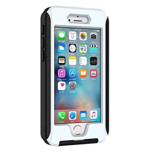 iPhone 6 Case, Wasserdicht Schutzhülle, Moonmini Wasserdicht, Stoßfest Schmutzfester Schnee mit Berührt Transparenter Schirm-Schutz [Kopfhörerbuchse][Lautstärkeregelung][Ein / Aus Schalter][USB-Anschl
