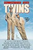Twins Movie Poster (27 x 40 Inches - 69cm x 102cm) (1988) Style B -(Arnold Schwarzenegger)(Danny DeVito)(Kelly Preston)(Hugh O'Brian)(Chloe Webb)(Bonnie Bartlett)