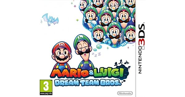 Nintendo Mario And Luigi: Dream Team -3DS - Juego (Nintendo 3DS ...