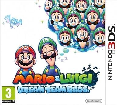 mario and luigi dream team bros nintendo 3ds amazon co uk pc