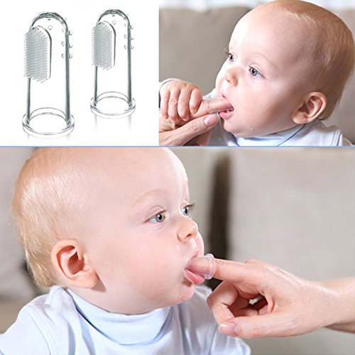 Amazon.com : 1Pcs Soft Safe Baby Kids Silicone Gum Deciduous Tooth Brush Cepillo De Dientes Baby : Everything Else