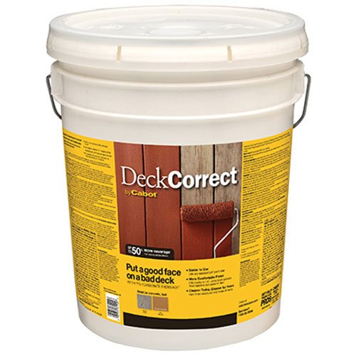 08 Deck (CABOT SAMUEL INC 25200-08 Deck Correct 5GAL Stain)
