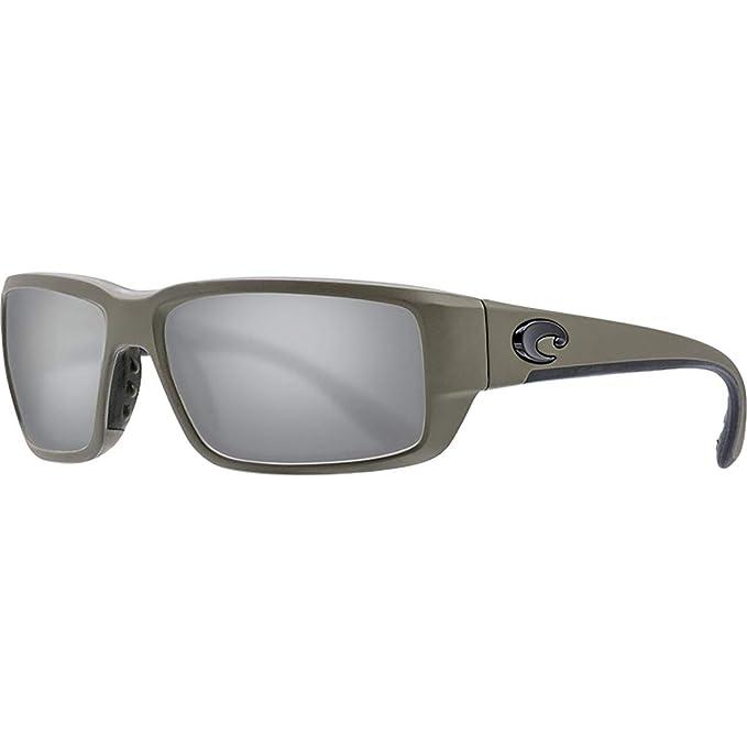 Costa Del Mar DEL MAR Black NEW 580G Silver Gray Mirror 580 Glass