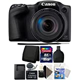 Canon PowerShot SX430 IS 20MP 45X Zoom Wifi/NFC Digital Camera 16 GB Bundle
