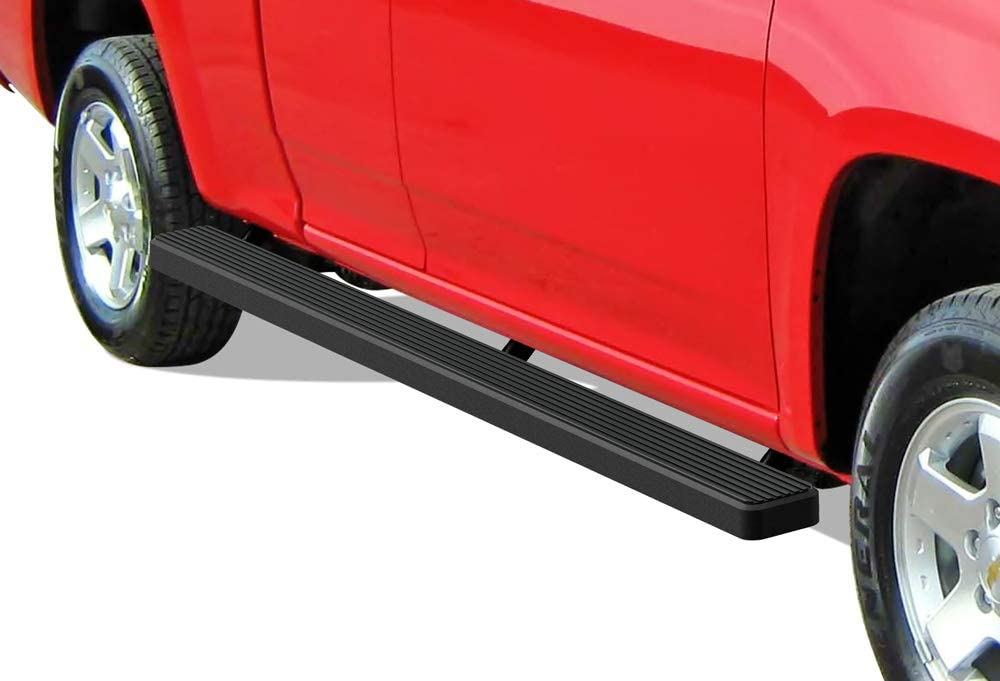 APS iBoard Running Boards Exclude CK Classic Compatible with 1999-2013 Chevy Silverado GMC Sierra 1500 2500 Double Cab /& 2001-2014 2500HD 3500 Black Powder Coated 4in Nerf Bars Side Steps Bars