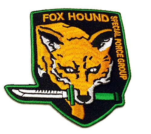 Price comparison product image FOX Hound Metal Gear Solid Phantom Special Force Hook fastener Patch