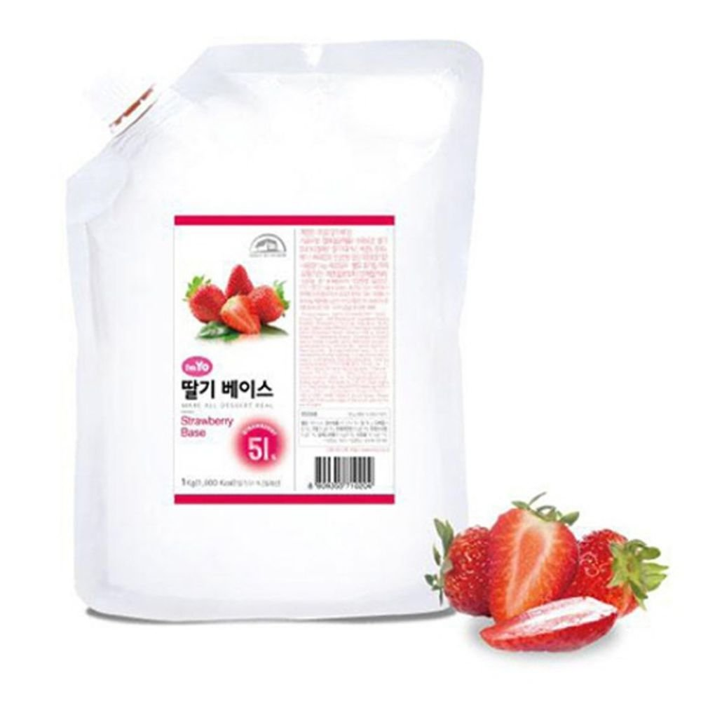 Imyo Yogurs Strawberry Smoothie Base 1Kg Yogurt