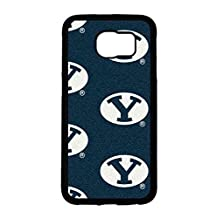 NCAA Team Logo Sports Theme Samsung Galaxy S6 Case BYU Cougars,Brigham Young University Attractive Fashionable Pattern Cover For Guys