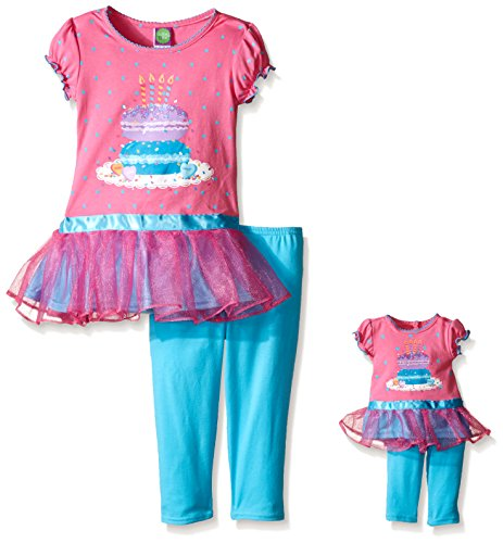 Dollie Me Birthday Legging Outfit