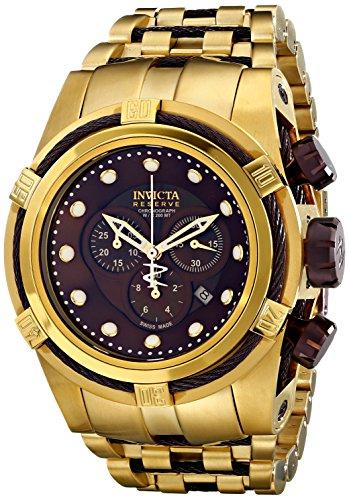 Invicta Men's 12740 Bolt Analog Display Swiss Quartz Gold Watch