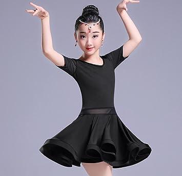 Falda de Baile Latino para niños Faldas para niños Trajes de Juego ...